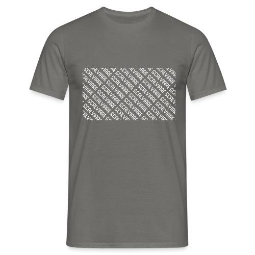 Scalviare Messy White - Männer T-Shirt