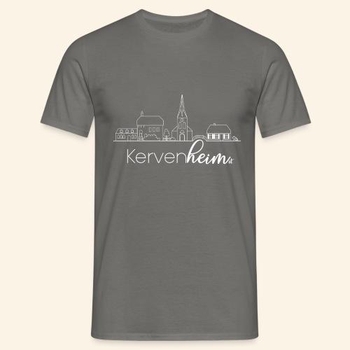 Kervenheim Skyline - Männer T-Shirt