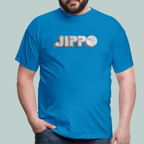 Retro JIPPO logo - Miesten t-paita