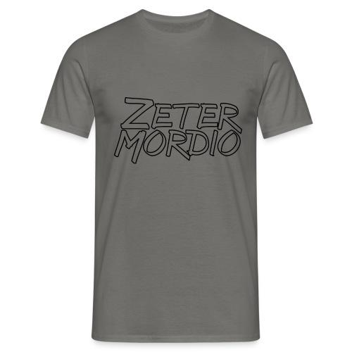 Zetermordio BigBlock - Männer T-Shirt