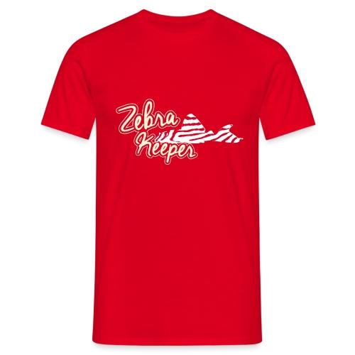 Zebra Keeper - T-shirt Homme