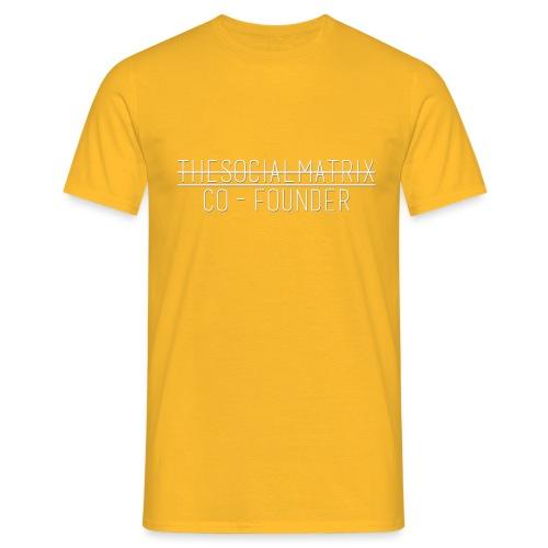 JAANENJUSTEN - Mannen T-shirt