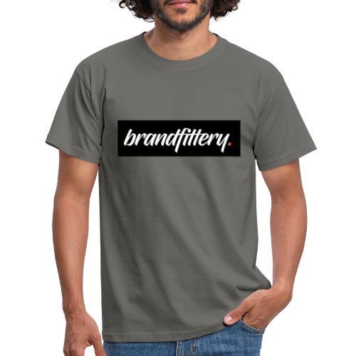 brandfittery logo test - Männer T-Shirt