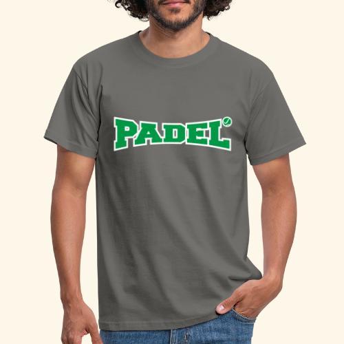 padel verde y blanco - Camiseta hombre