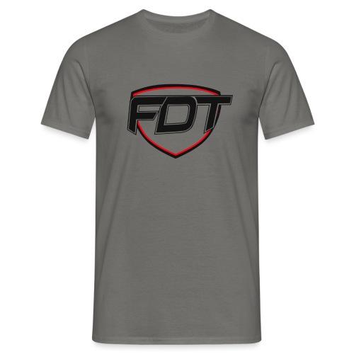 FDT initial - T-skjorte for menn