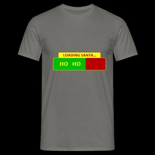 Loading Santa - Miesten t-paita