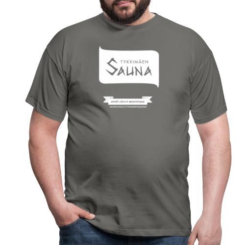Tykkimäki - musta - Miesten t-paita