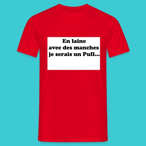 t-shirt humour - T-shirt Homme