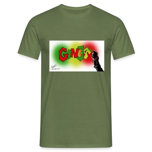 Ganja - Herre-T-shirt