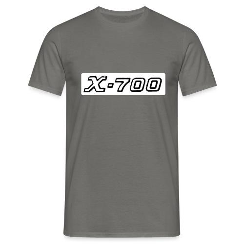 Minolta X-700 White - Maglietta da uomo