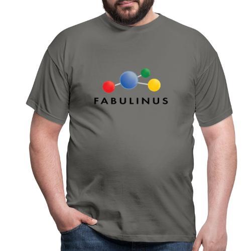 Fabulinus Zwart - Mannen T-shirt