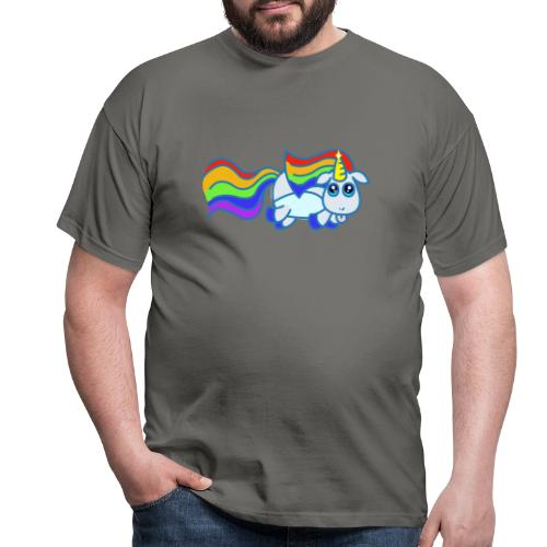 Nyan unicorn - Maglietta da uomo