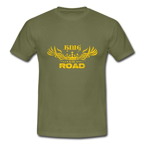King of the road light - Mannen T-shirt