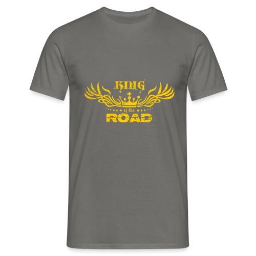 King of the road light - Mannen T-shirt