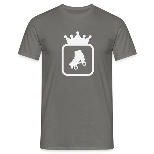 Speedskater Skating Krone - Männer T-Shirt