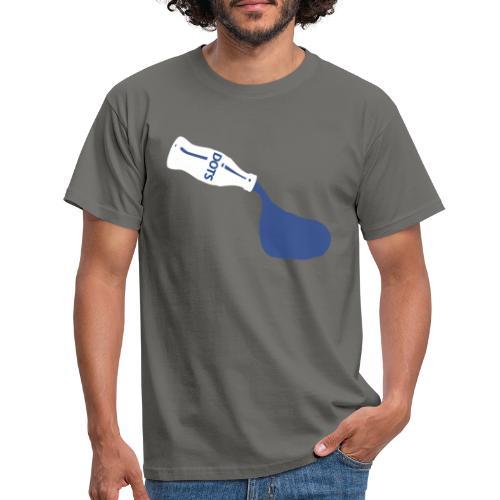 White Bottle Dots - Männer T-Shirt