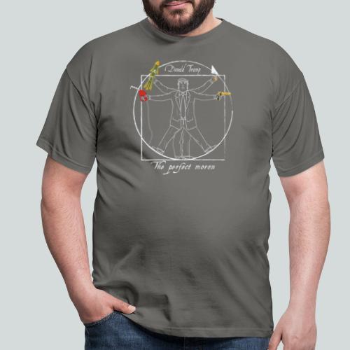 Trump : Le parfait crétin I - Anti-Trump design - T-shirt Homme
