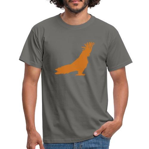Papagei Orange - Männer T-Shirt