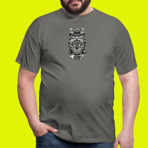 maglietta gufo - Maglietta da uomo