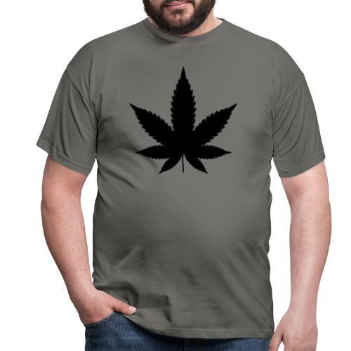 CannabisBlack - Männer T-Shirt