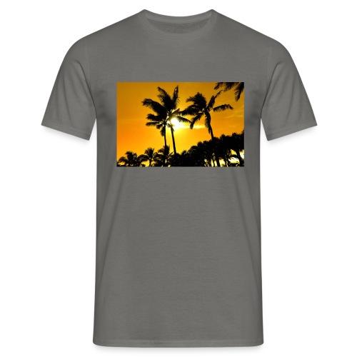 pam trees - T-shirt herr