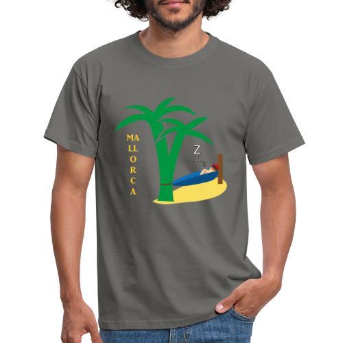 Mallorca - Urlaub unter Palmen - Männer T-Shirt