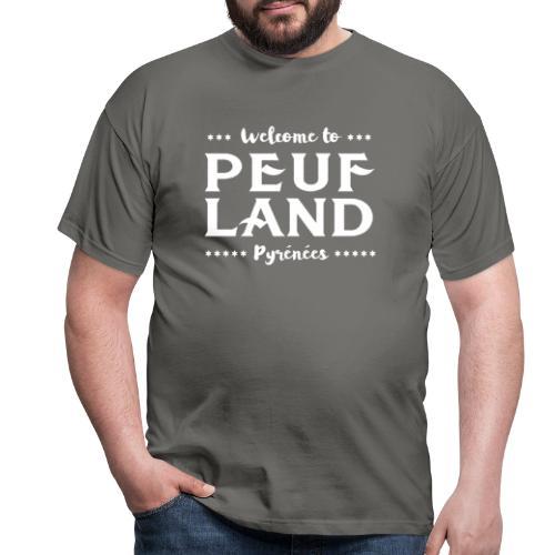 Peuf Land Pyrénées - White - T-shirt Homme