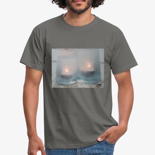 Selectie kaarslicht - Mannen T-shirt