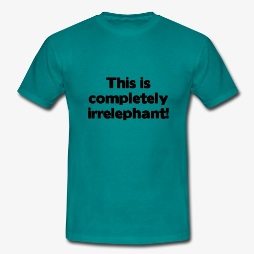 Irrelephant - Männer T-Shirt