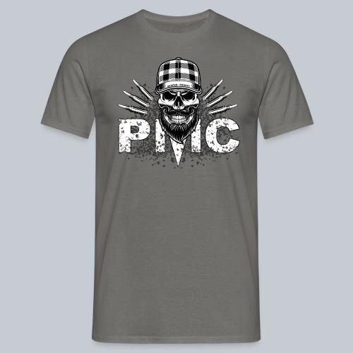 PMC Skull white - Männer T-Shirt