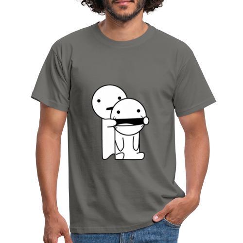 Lachen! - Mannen T-shirt