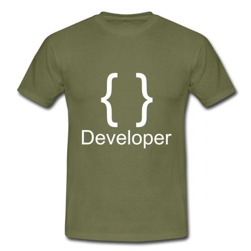 Developer - Männer T-Shirt