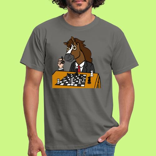 Chess Champ Horse - Men's T-Shirt