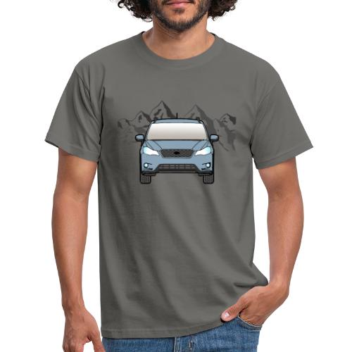 khaki gray mountain xv - Men's T-Shirt