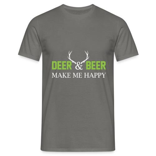 Deer Beeer2 - Männer T-Shirt