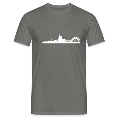 Köln-Skyline - Männer T-Shirt