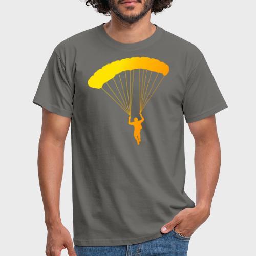 Colorfull Skydiver - Männer T-Shirt