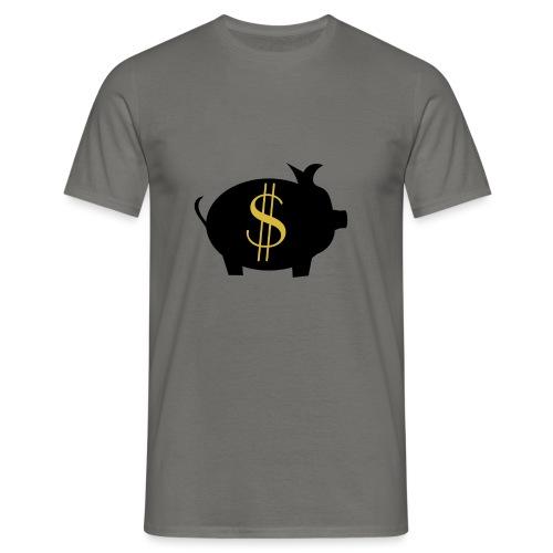 Zahlschweinchen - Männer T-Shirt