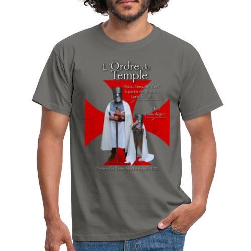 Série Templiers n°1 - T-shirt Homme