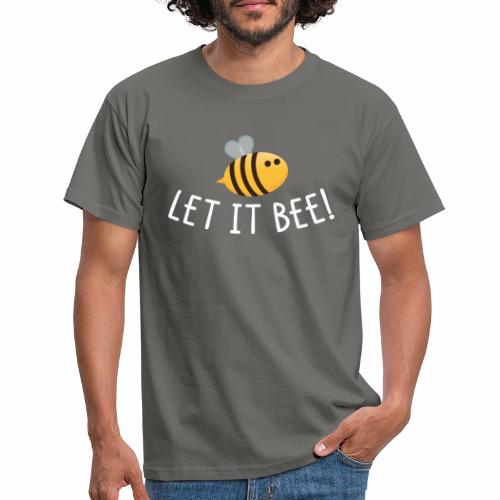 Let it Bee - Männer T-Shirt