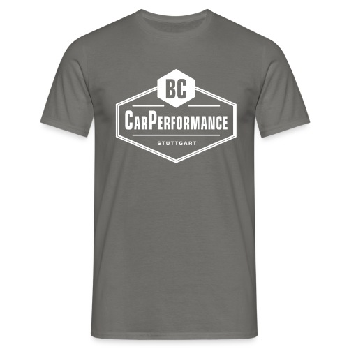 BC CarPerformance Original white - Männer T-Shirt