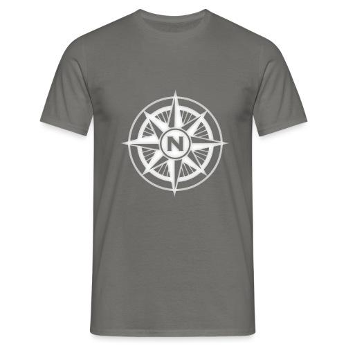 Kompass 3 png - Männer T-Shirt
