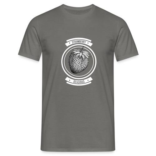 Strawberries - Men's T-Shirt