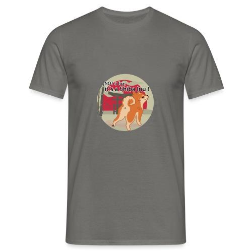 it´s a shiba inu - Männer T-Shirt
