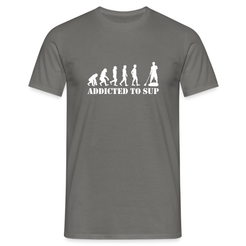 Evolution Addicted to SUP White - T-shirt Homme