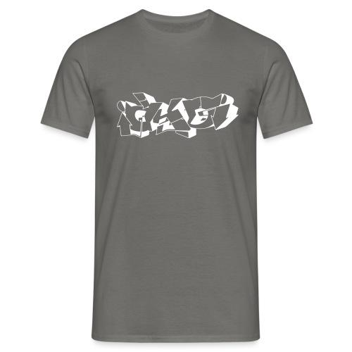 AKO LOGO WHITE - T-shirt herr