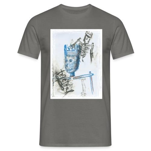 Blue King - Männer T-Shirt