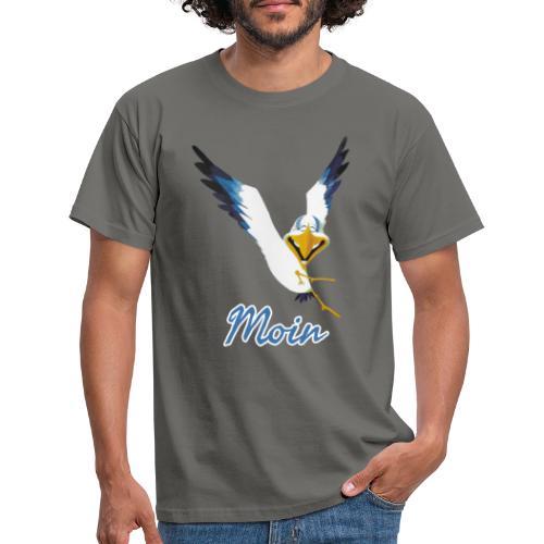 Moin Lachmöwe - Männer T-Shirt