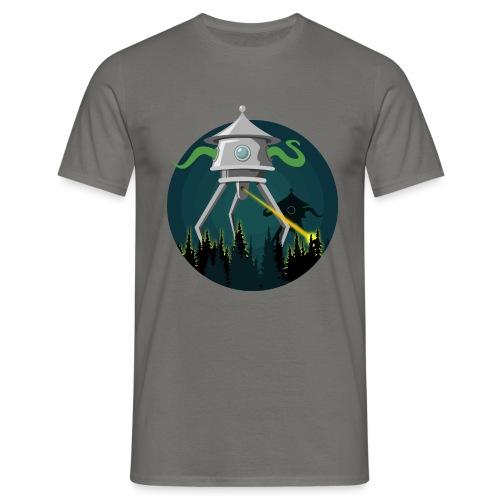 Aliens from The War of the Worlds - H. G. Wells - Maglietta da uomo