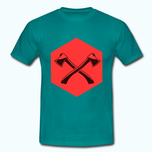 Hipster ax - Men's T-Shirt